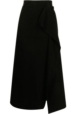 Y'S Women Skirts - A-line folded skirt