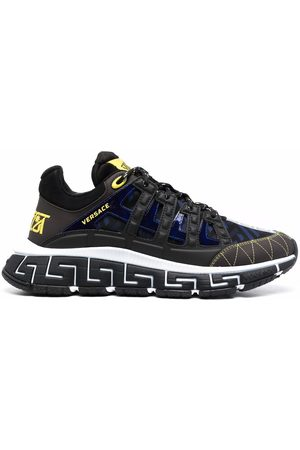VERSACE Men Sneakers - Trigreca panelled cut-out sneakers