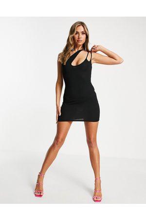 Public Desire Asymmetric cut out mini dress in
