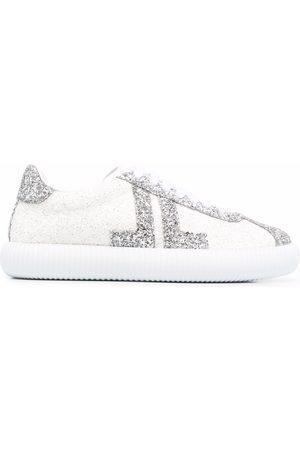 Lanvin Women Sneakers - Glittered low-top sneakers