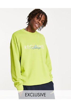 Reclaimed Men Sweatshirts - Inspired washed logo sweat