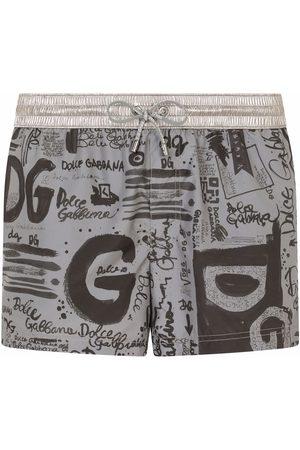 Dolce & Gabbana Graphic print swimming shorts