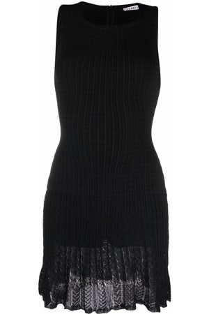 Alaïa 1980s knitted fitted dress