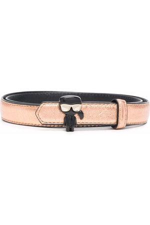Karl Lagerfeld Women Belts - K/Ikonik 3D Pin belt