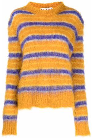 Marni Round-neck striped jumper
