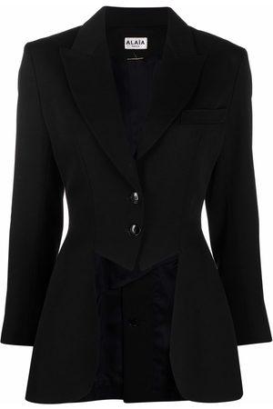 Alaïa Women Blazers - 1980s single-breasted fitted blazer