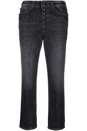 Dondup Women Straight - Mid-rise cropped jeans