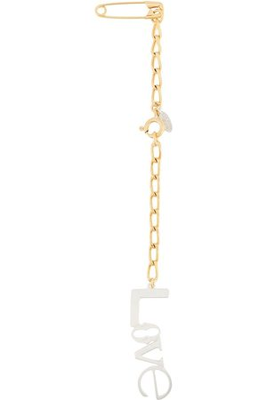 WOUTERS & HENDRIX Paperclip chain-link brooch