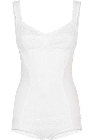 Dolce & Gabbana Lace insert corset bodysuit