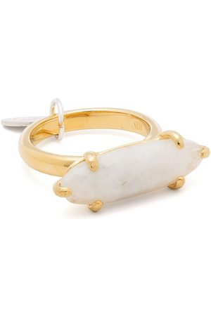 WOUTERS & HENDRIX The Tell-Tale Heart moonstone-embellished ring