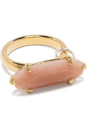 WOUTERS & HENDRIX Sunstone-embellished ring