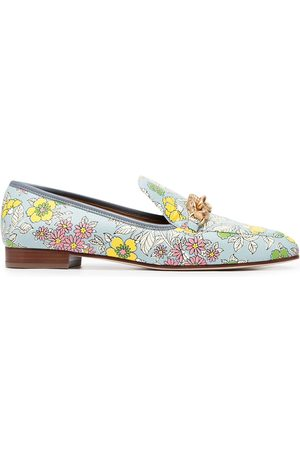 Tory Burch Jessa floral-print loafers