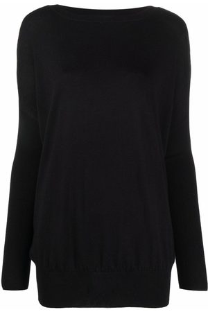 SNOBBY SHEEP Women Jumpers - Ribbed-knit drop-shoulder sweater