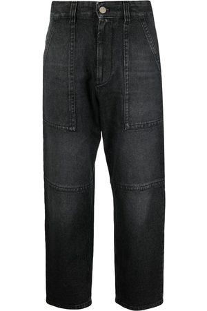 Ami Stonewashed boyfriend jeans