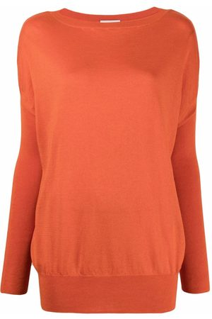 SNOBBY SHEEP Ribbed-knit drop-shoulder sweater