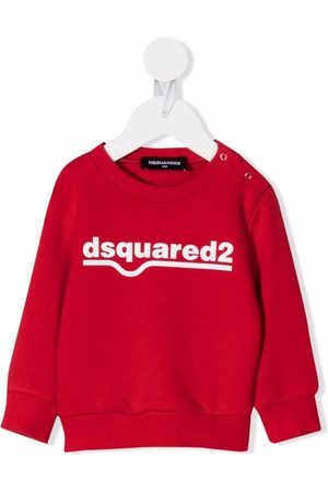 Dsquared2 Baby Sweatshirts - Logo-print cotton sweatshirt