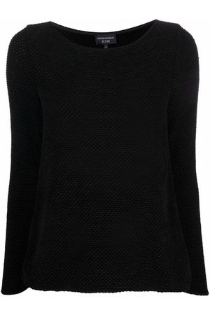 Emporio Armani Women Tops - Round neck knitted top