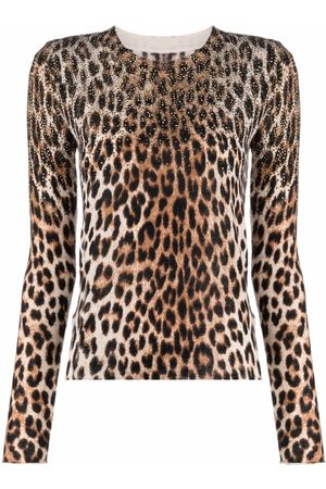 Zadig & Voltaire Women Tops - Mily leopard-pattern knitted top
