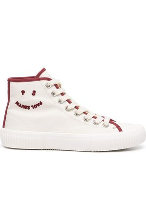 Paul Smith Women Sneakers - Embroidered logo hi-top sneakers