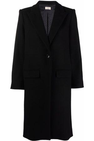 Zadig & Voltaire Women Blazers - Peak-lapels single-breasted coat