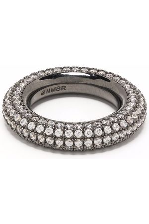 númbering Pave doughnut ring