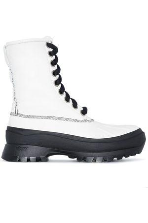Jil Sander Women Boots - JIL XX FLT BT HIGH ANKL DUCK LCUP BLK CH