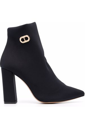 DEE OCLEPPO Women Ankle Boots - Salerno logo-buckle ankle boots