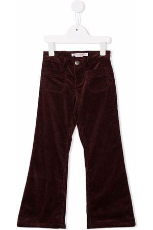 BONPOINT Boys Wide Leg Pants - Wide-leg corduroy trousers