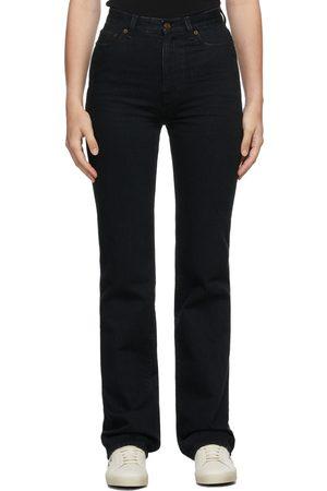 Saint Laurent 90s High-Rise Bootcut Jeans