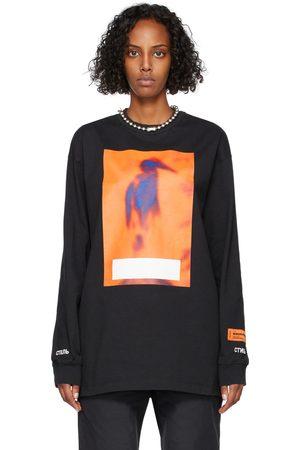 Heron Preston Long Sleeve Censored T-Shirt