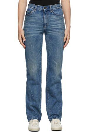 Saint Laurent Blue 60s Straight Jeans