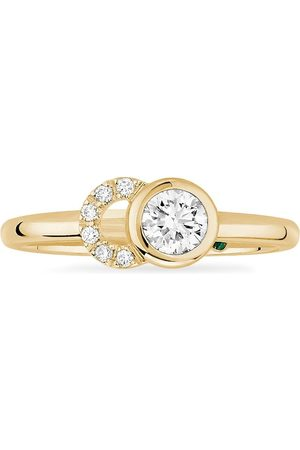 COURBET Women Rings - 18kt recycled yellow CO laboratory-grown diamond ring