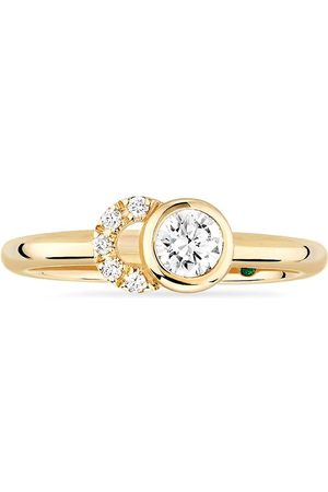 COURBET Women Rings - 18kt recycled yellow laboratory-grown diamond CO ring
