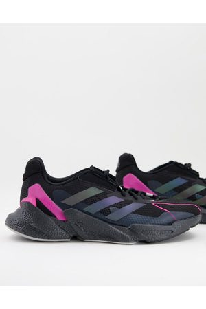 adidas Adidas Training X9000L4 trainers with pink detail in