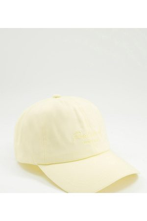 Reclaimed Women Hats - Inspired cap with script logo embroidery in pastel