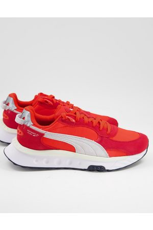 PUMA Men Sneakers - Wild Rider trainers in and white