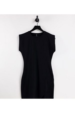 AsYou Women Casual Dresses - Sleeveless dress with split in