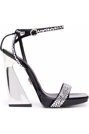 Philipp Plein Stone-embellished sandals