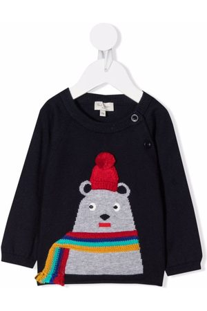 Paul Smith Knitted bear jumper