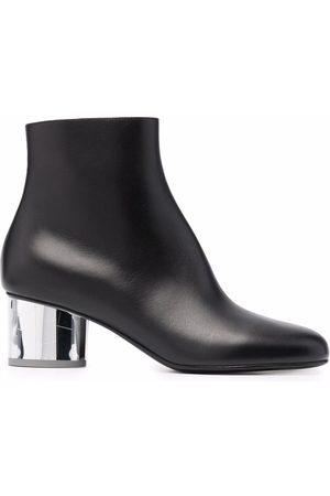 Salvatore Ferragamo Block-heel ankle boots