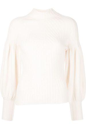 ZIMMERMANN Bishop-sleeved cashmere jumper