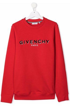 Givenchy Boys Sweatshirts - Logo print sweatshirt