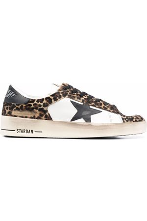 Golden Goose Multi-panel lace-up sneakers