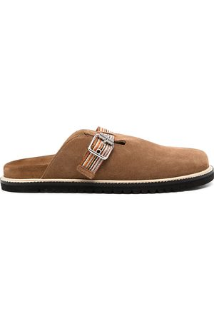 Paul Smith Mesa backless suede slippers