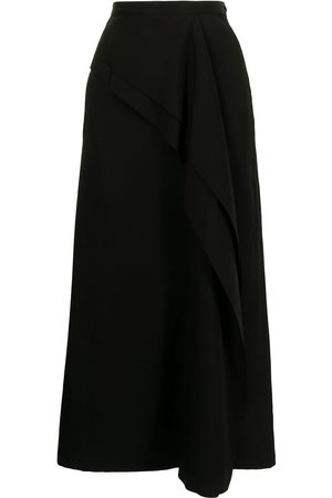 Y'S A-line wool skirt