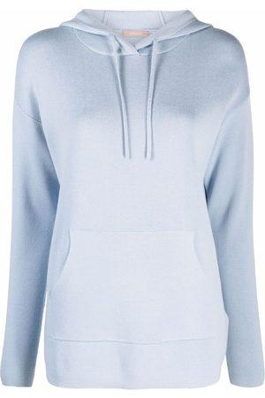12 STOREEZ Women Sweatshirts - Knitted hooded sweatshirt