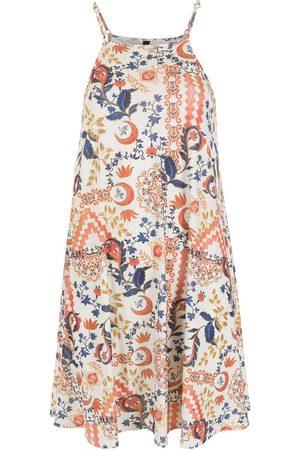 Lygia & Nanny Women Printed Dresses - Isis tile-print dress
