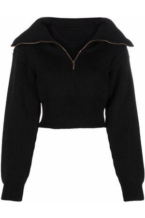 Jacquemus Zip-fastening long-sleeve jumper