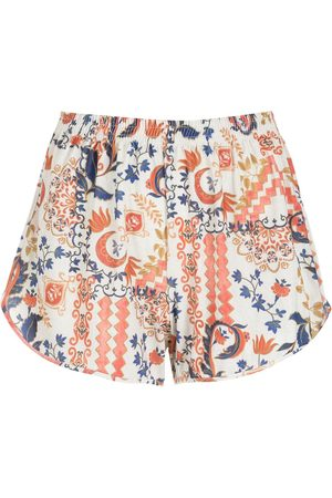 Lygia & Nanny Lee tile-print shorts