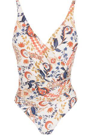 Lygia & Nanny Maisa floral-print swimsuit
